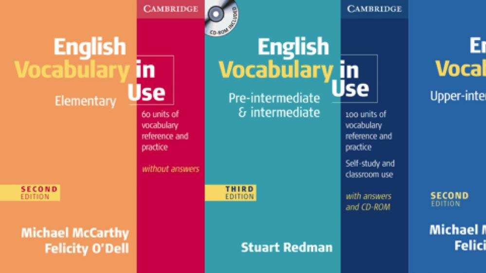 English Vocabulary In Use Pre Intermediate And Intermediate Third